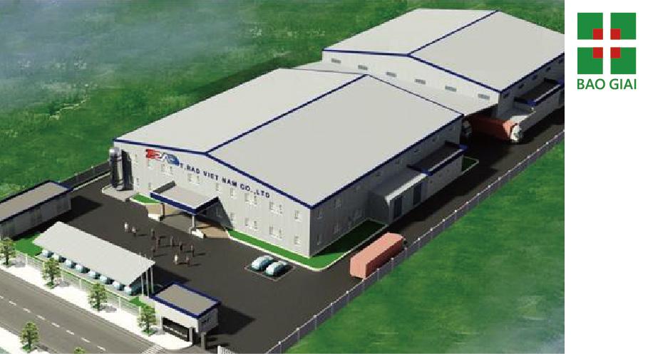 日本TRAD越南廠二期新建工程(河內同文工業區)-設計、規劃、施工