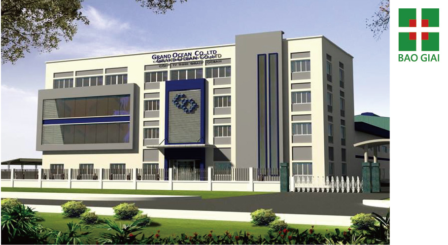 海陽省宏洋越南有限公司廠房工程設計