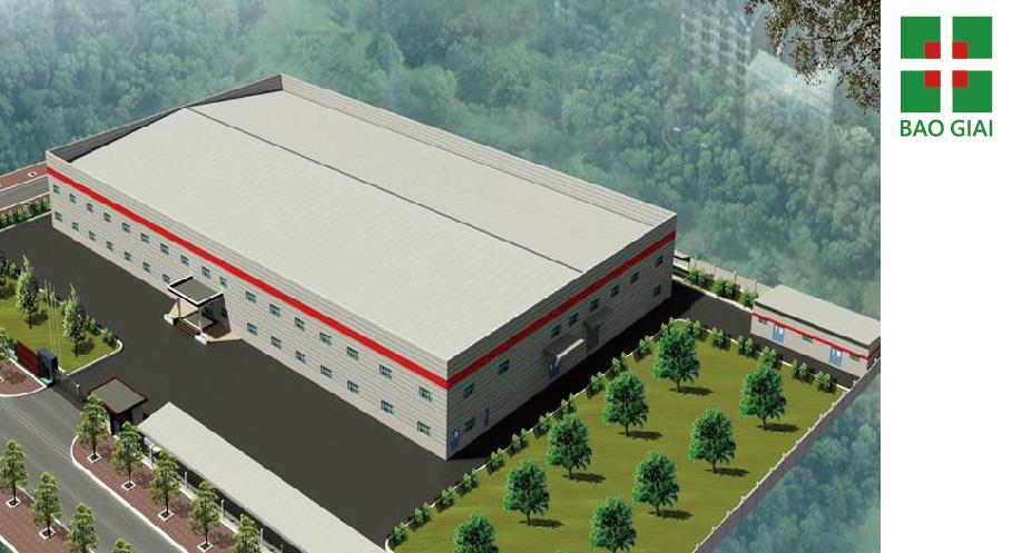 華日越南廠新建工程(北江雲中工業區)-設計、規劃、施工